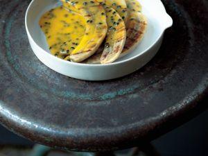 Grillbananen mit Maracujasoße Rezept
