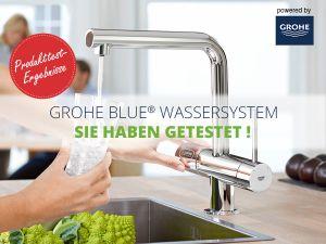 GROHEBlue Wassersystem: So zufrieden waren die Tester