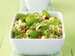 Grüner Nudelsalat Rezept