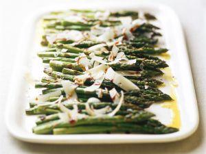 Grüner Spargel aus dem Ofen Rezept