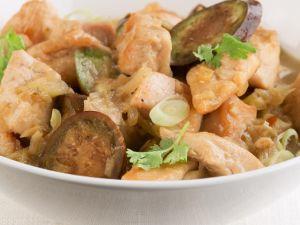 Grünes Curry mit Hühnchen Rezept