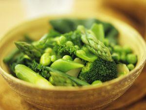 Grünes Gemüse Rezept