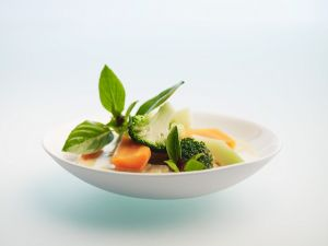 Grünes Gemüsecurry Rezept