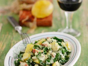 Grünkohl-Kartoffelsalat Rezept