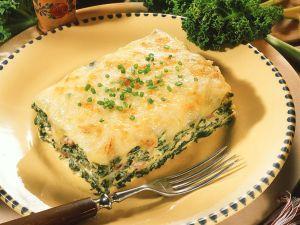 Grünkohl-Lasagne Rezept