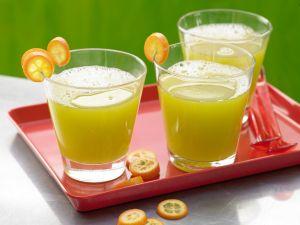 Gurken-Melonen-Drink Rezept