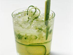 Gurkendrink mit Wodka Rezept