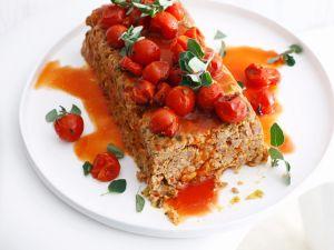 Hackbraten mit Tomaten Rezept