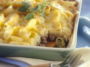 Hackfleisch-Kartoffelpie Rezept