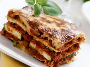 Hackfleisch-Zucchini-Lasagne Rezept