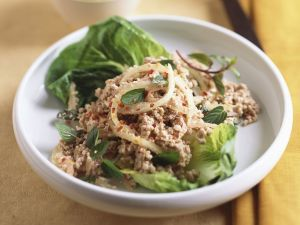 Hackfleischsalat auf Thai-Art Rezept