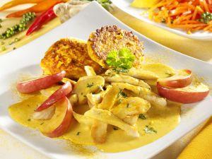 Hähnchen-Apfel-Curry Rezept