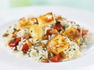 Hähnchen auf Reis mit Tomaten Rezept