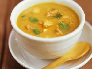 Hähnchen-Curry-Suppe (Mulligatawny Suppe) Rezept
