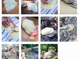 Hähnchen im Salzteig Rezept