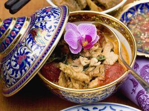 Hähnchen-Kokoscurry Rezept