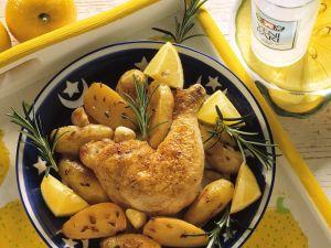 Hähnchen mit Kartoffeln Rezept