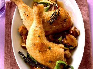 Hähnchen mit Pilzsauce Rezept