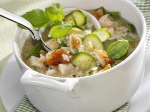 Hähnchen-Reis-Eintopf mit Zucchini Rezept