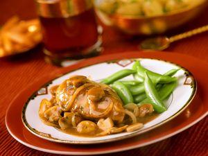 Hähnchenbrust mit Champignons Rezept