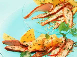 Hähnchenbrust mit Mango Rezept
