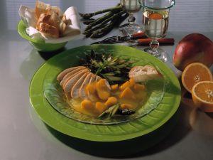 Hähnchenbrust mit Mango-Orangensauce Rezept