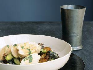 Hähnchenbrust mit Morchelsauce Rezept