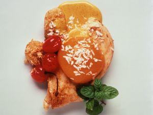 Hähnchenbrust mit süß-pikanter Currysoße Rezept