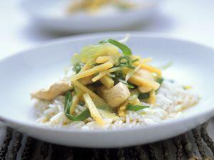 Hähnchenbrust mit Zitronensauce Rezept