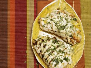 Hähnchenbrustfilet gefüllt mit Brokkoli und Käse Rezept