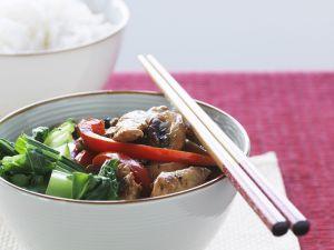 Hähnchenpfanne mit Gemüse Rezept