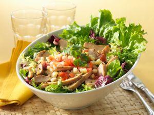 Hähnchensalat mit Ananas Rezept