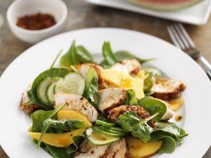 Hähnchensalat mit Mango Rezept