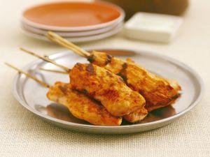 Hähnchenspieße nach Tandoori-Art Rezept