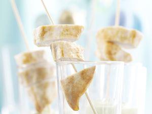 Hähnchensticks mit Kräuter-Minz-Dip Rezept