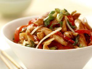 Hähnchenstreifen asiatische Art Rezept