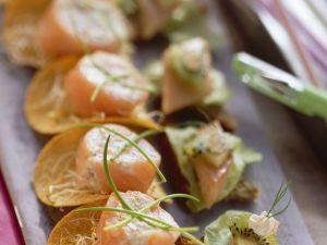 Häppchen mit Fisch Rezept
