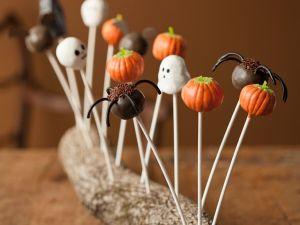 Halloween Cake Pops Rezept