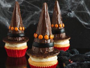 Halloween-Cupcakes Rezept