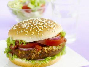 Hamburger als perfekte Mahlzeit
