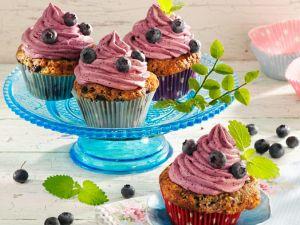 Heidelbeer-Cupcakes Rezept