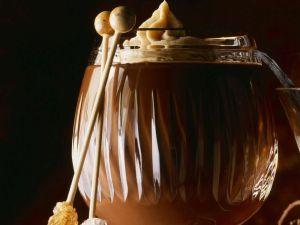 Heisse Schokolade mit Rum Rezept