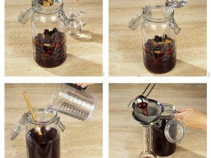 Herstellung von Kirschlikör Rezept