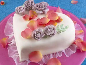 Herzförmige Torte Rezept