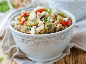 Herzhaftes Porridge: Haferbrei zum Mittag