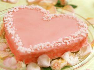 Herzkuchen mit Zuckerguss Rezept