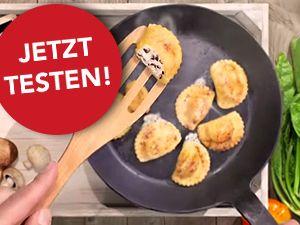Testen Sie die HILCONA Pfannen Pasta gratis!