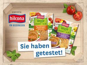 Test erfolgreich: Hilcona Veggie Pfannen-Taler