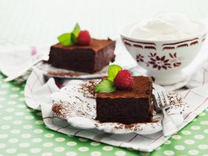 Himbeer-Brownies Rezept