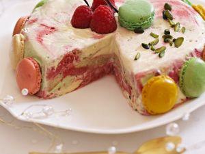 Himbeer-Eiskuchen Rezept